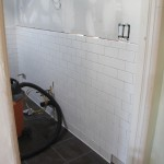 Building a Bathroom: Plaster & Subway Tile