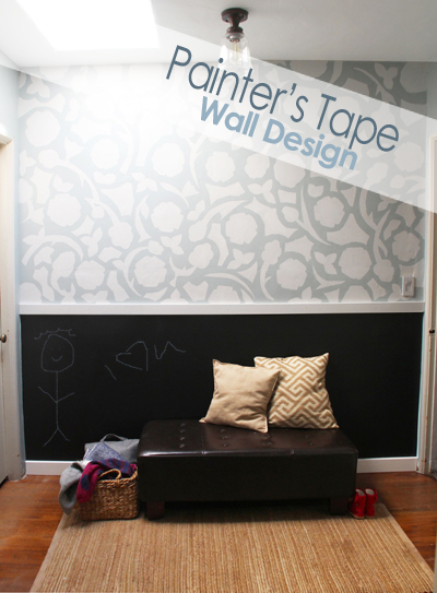 Paint Tape Design Ideas interiorholiccom cool easy wall paint designs let 39 er rip cool new home wallpaper for diy I Created The Block Print Design Out Of Painters Tape