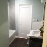 Building a Bathroom: Installing a New Shower Door