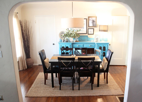 Rug For Dining Room dining room update: rug tour - pepper design blog