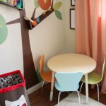 Project Nursery: Dipped Table Legs