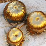 Gold 'Dipped' Pumpkins & Our Trip to the Pumpki
