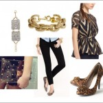 New Year's Eve Wardrobe Style Board from PepperDesignBlog.com