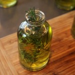 Handmade Gifts: Rosemary Infused Olive Oil