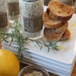 Handmade Gifts: Lavender & Lemon Sea Salt