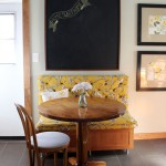 New Breakfast Nook, Finished! : PepperDesignBlog.com