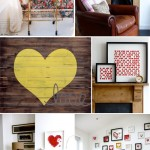 Living Room : Heart Art Inspiration : PepperDesignBlog.com