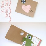 Happy Valentine's Day! Our DIY Monster Cards