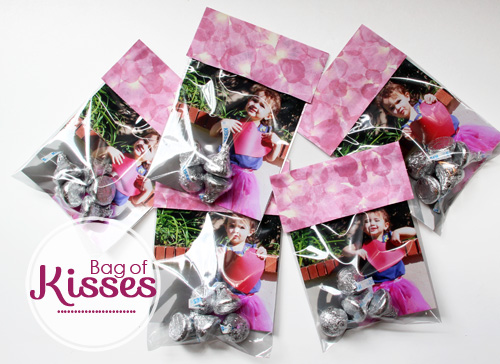 livs bag of kisses valentines day project