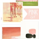Large Pink Abstract Art Inspiration : PepperDesignBlog.com