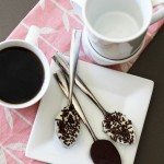 Good Eats: Chocolate Dipped Coffee Spoons
