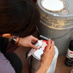 Patching & Painting with Brushless Paint Tubes