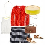 Wardrobe Style Boards: Casual Spring Style