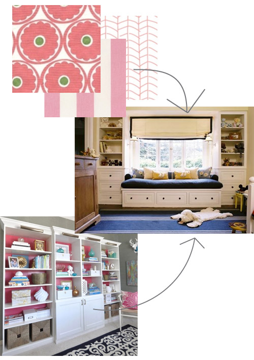Nursery Bookshelf Inspiration | PepperDesignBlog.com