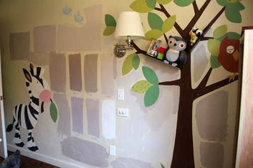 Painting the Nursery | PepperDesignBlog.com