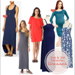 2nd & 3rd Trimester Style Boards: Dresses!