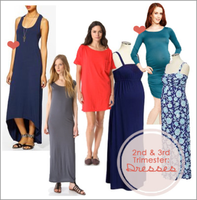 Favorite Maternity Dresses | Style Board | PepperDesignBlog.com
