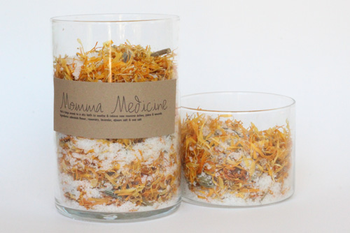 New Momma Tea Bath Soaks | PepperDesignBlog.com
