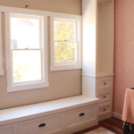 Girls' Room: Progress on the Built-In Bookshelves