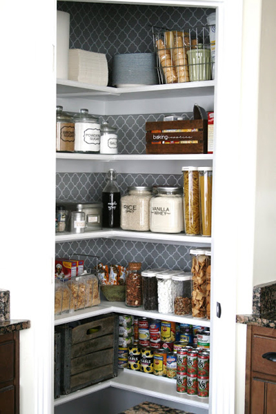 Pantry Inspiration | PepperDesignBlog.com
