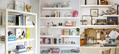 Office Shelving Inspiration | PepperDesignBlog.com