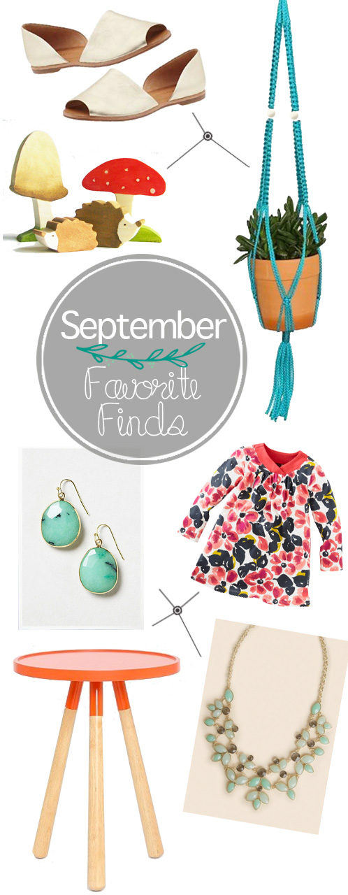 September Favorite Finds | PepperDesignBlog.com