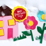 DIY Foam Bath Toys, Shapes & Letters | PepperDesignBlog.com