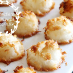 4 Ingredient Coconut Macaroons
