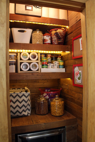 Our Pallet Pantry | PepperDesignBlog.com