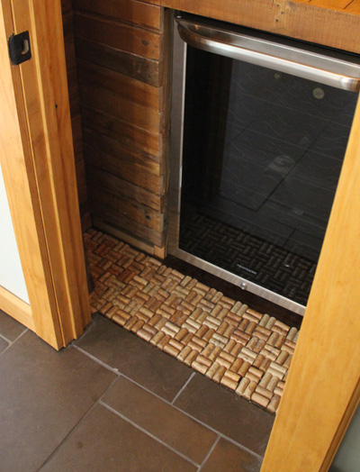 Our Pallet Pantry - Cork Floors | PepperDesignBlog.com
