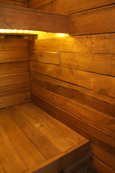 Wood Pallet Pantry | PepperDesignBlog.com