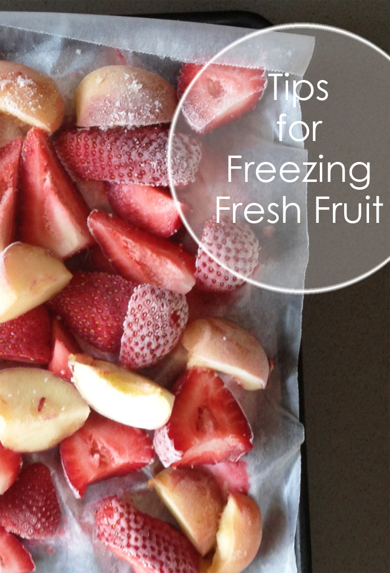 Tips for Freezing Fruit | PepperDesignBlog.com