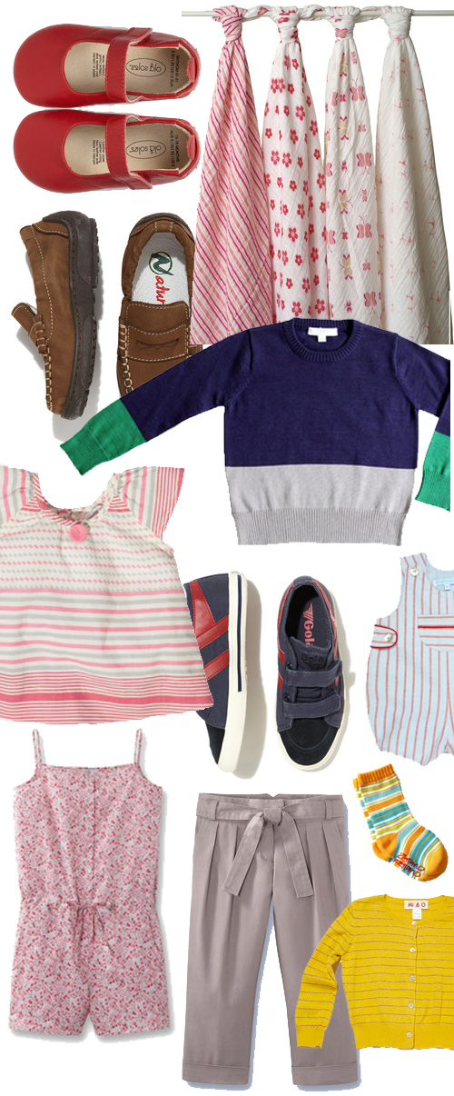 Gilt | Kids Clothes Inspiration Board | PepperDesignBlog.com