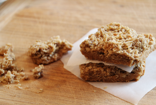 Maple Oat Bars | PepperDesignBlog.com