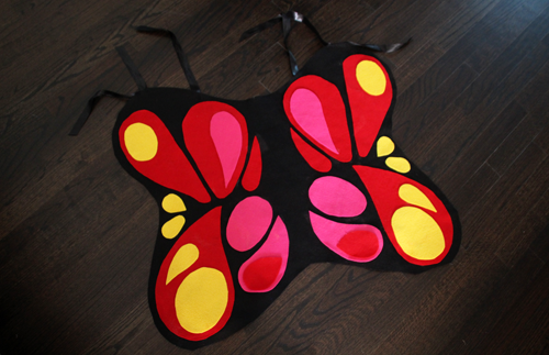 Halloween DIY Butterfly Costume | PepperDesignBlog.com
