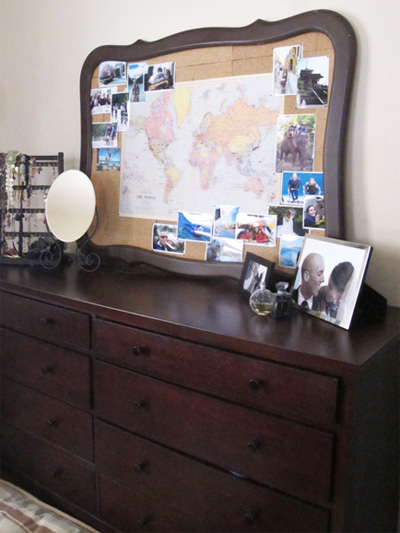Map Corkboard | PepperDesignBlog.c