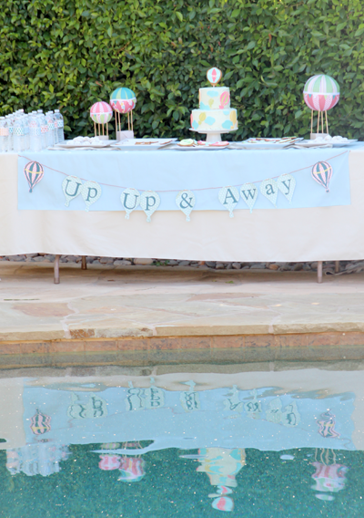 Up, Up & Away Baby Shower | PepperDesignBlog.com