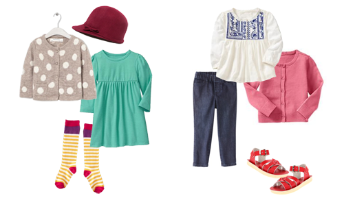 Liv's Fall Wardrobe | Girl's Toddler Style Board |  PepperDesignBlog.com
