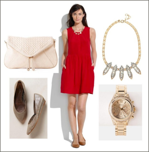 Wardrobe Style Boards: Holiday Parties! | PepperDesignBlog.com
