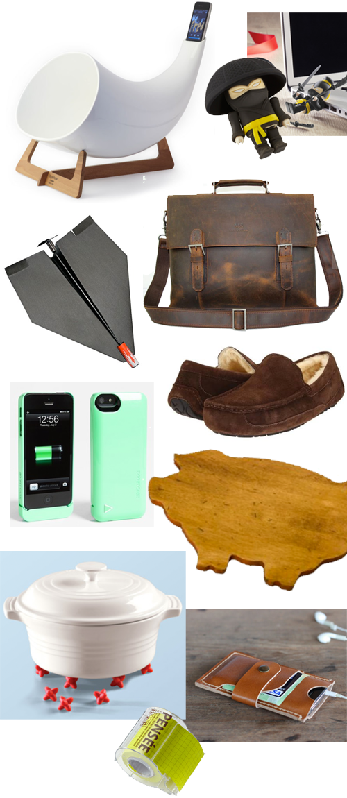 2013 Holiday Gift Guide: For the Guys | PepperDesignBlog.com