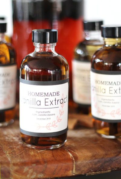 First up? Homemade vanilla extract. (And next, Kahlua!) I was so ...
