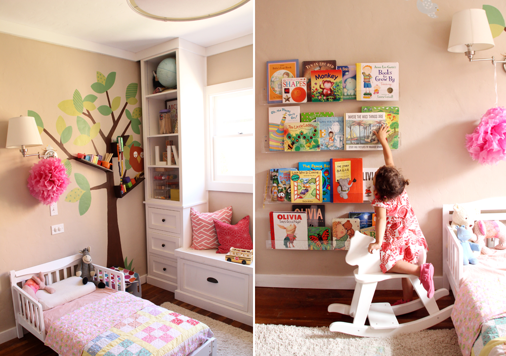 Favorite House Projects | Year in Review, 2013 | Girls' Room Updates | PepperDesignBlog.com