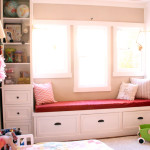 Girls' Room: New Window Seat Cushion (Finally)