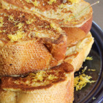 Good Eats: Lavender & Lemon French Toast
