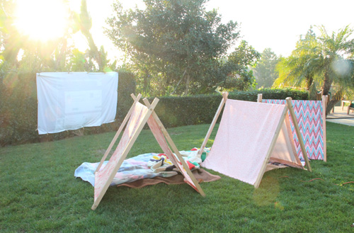 An Even Easy(ire) A-Frame Tent | PepperDesignBlog.com