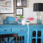 Dining Room Addition: A New Watercolor for the Buffet