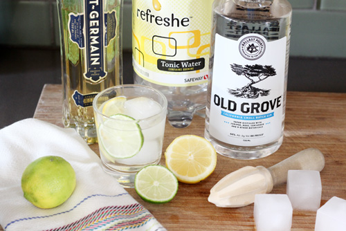 A Great Gin & Tonic | PepperDesignBlog.com