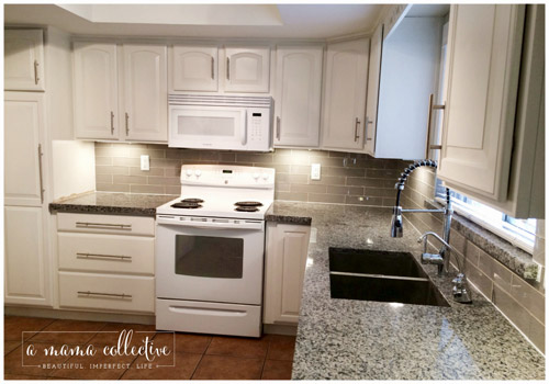 A Mama Collective Guest Post | Kitchen Transformation | PepperDesignBlog.com
