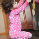 A Mini Kitchen Addition: Magnet Play