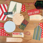 Holiday Cards Become Next Year's Gift Tags